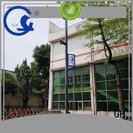 GH smart street light pole ideal for