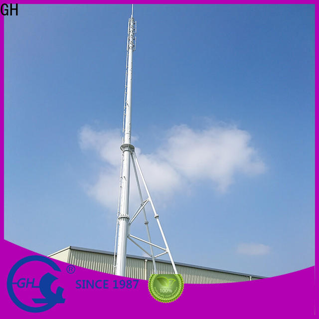 GH convenient assembly integrated tower solutions suitable for communication industy