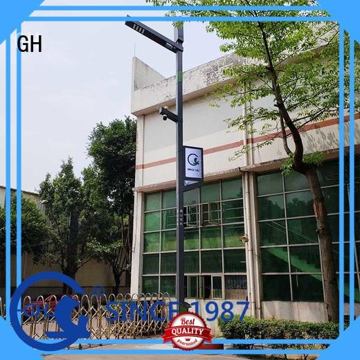 GH energy saving smart street lamp suitable for