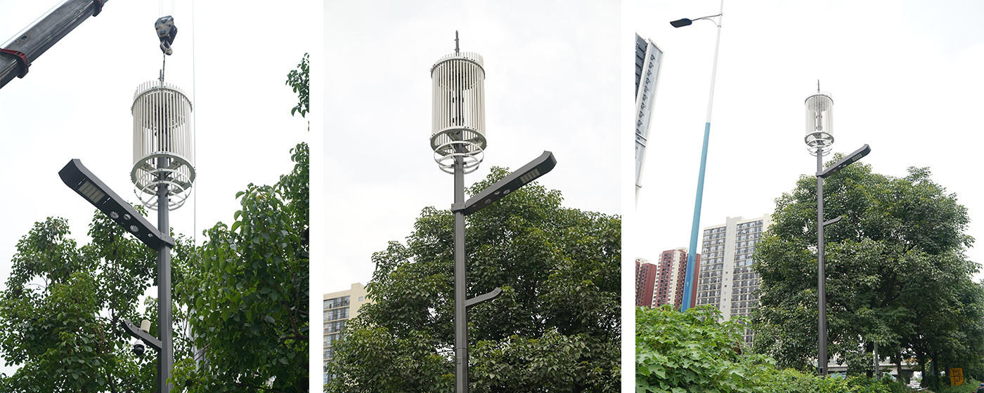 aumatic brightness adjustment smart street light pole cost effective for lighting management-1
