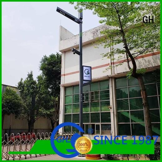 GH smart street lamp cost effective for lighting management