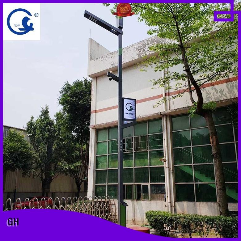 GH intelligent street lamp good for public lighting
