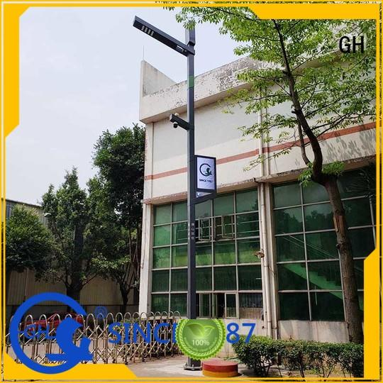 advanced technology smart street light pole suitable for lighting management