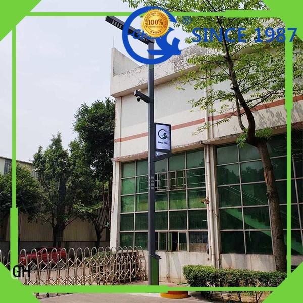 GH aumatic brightness adjustment smart street light ideal for