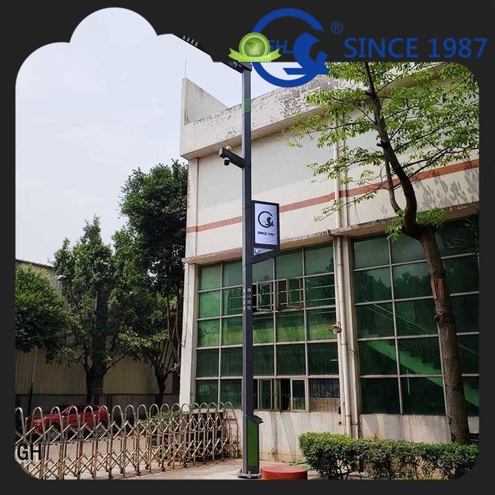 GH efficient smart street lamp good for lighting management