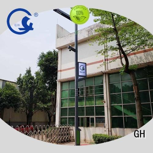 advanced technology intelligent street lamp suitable for lighting management