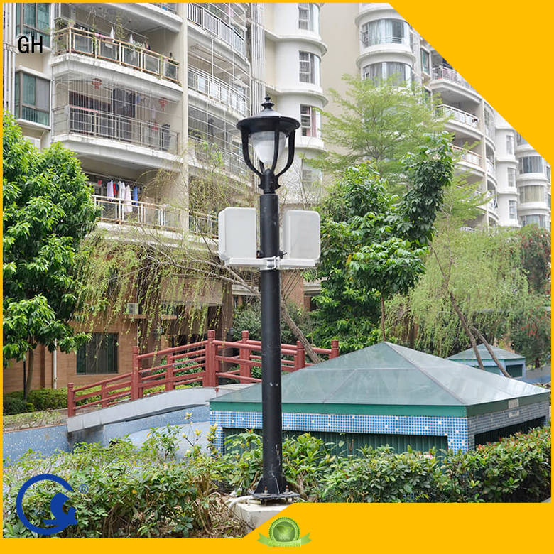 aumatic brightness adjustment smart street light pole ideal for