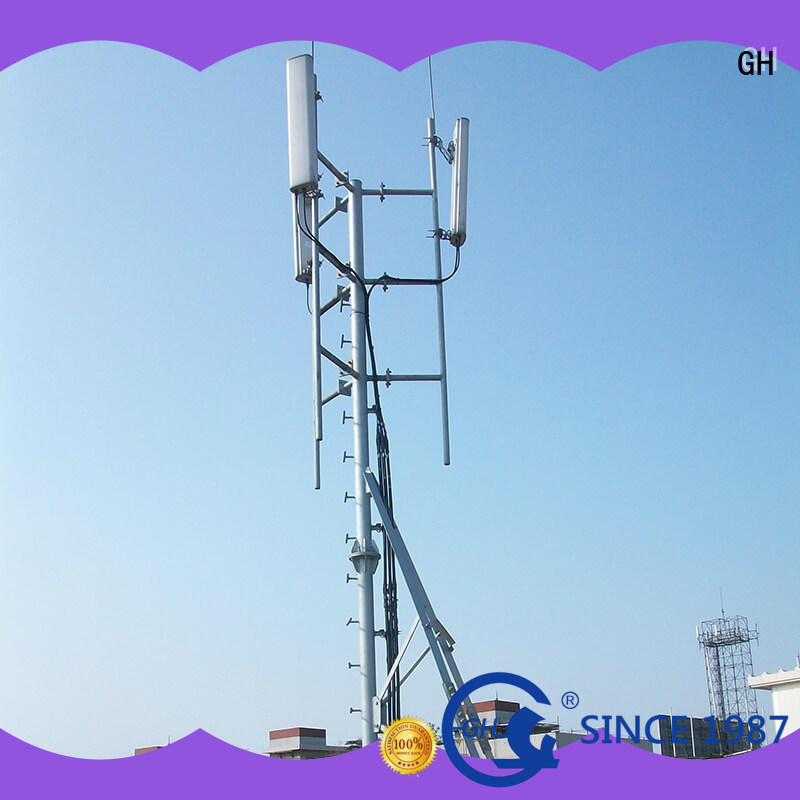 GH stable antenna support pole ideal for communication industry