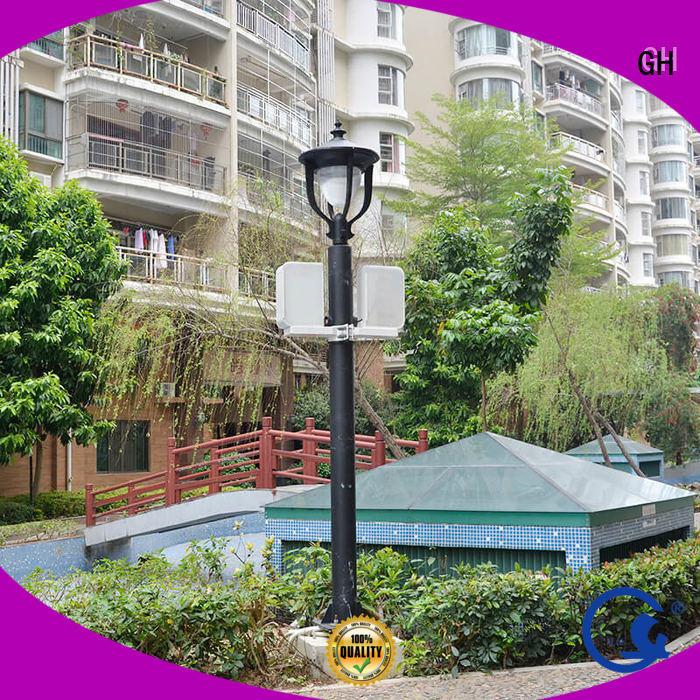 efficient smart street light pole suitable for