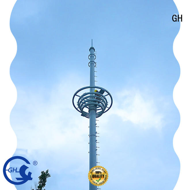 GH good quality antenna tower ideal for communication industy