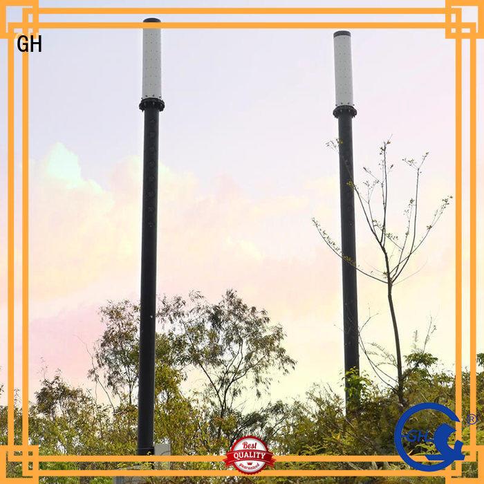GH energy saving smart street light pole good for lighting management