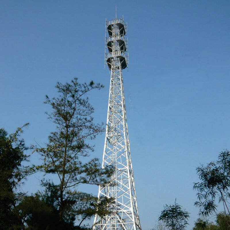 Angle Tower, Three legged steel tower, Four legged steel tower