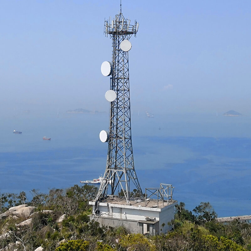 good quality telecommunication tower ideal for communication industy-1