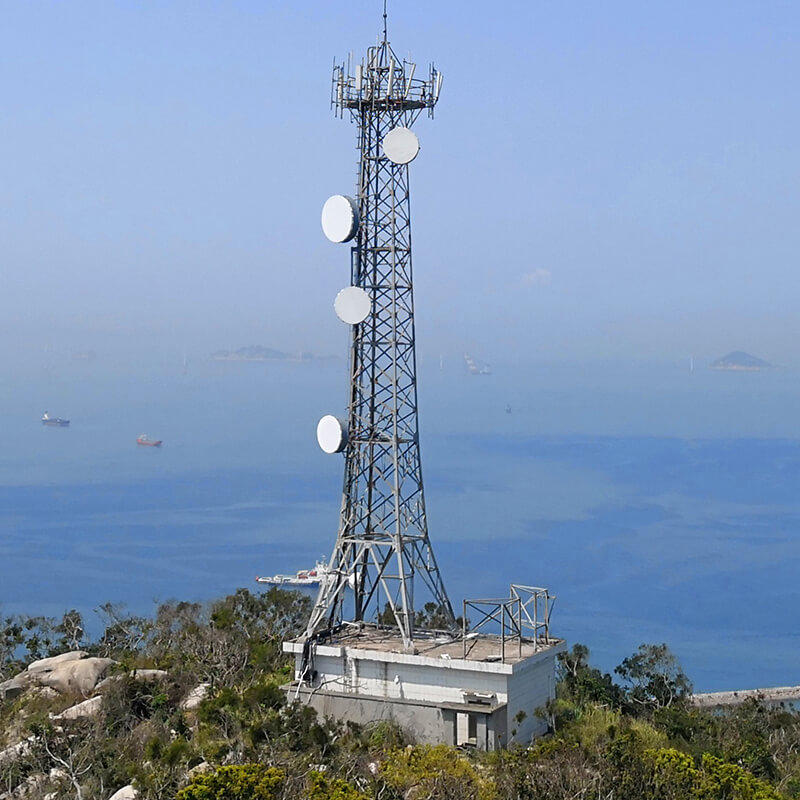 light weight angle tower suitable for communication industy