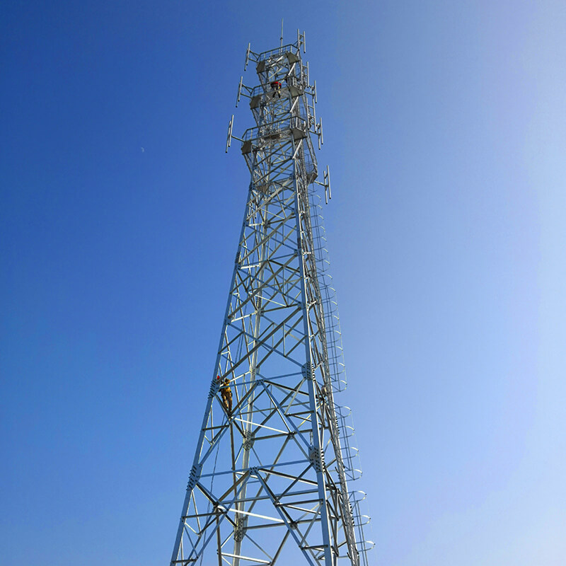 good quality telecommunication tower ideal for communication industy-2