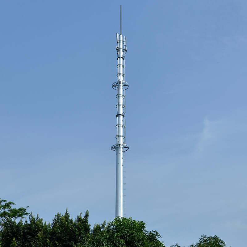 Single tube tower, Communication rod