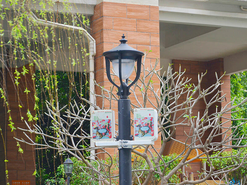 GH efficient smart street light pole cost effective for
