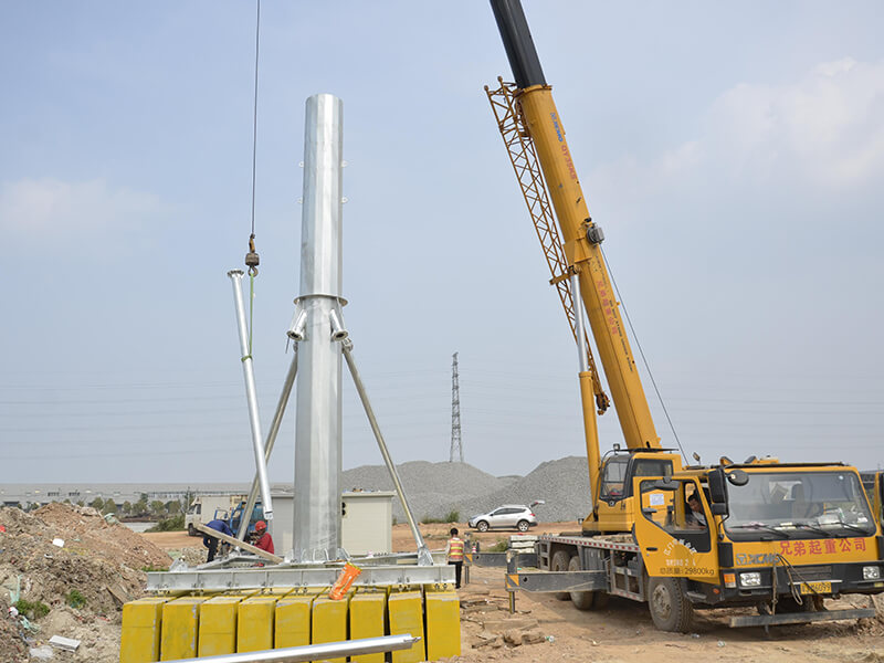 GH convenient assembly integrated tower systems with high performance for communication system-4