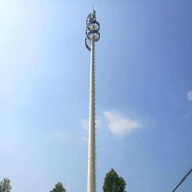 Landscape Communication Tower,single tupe tower