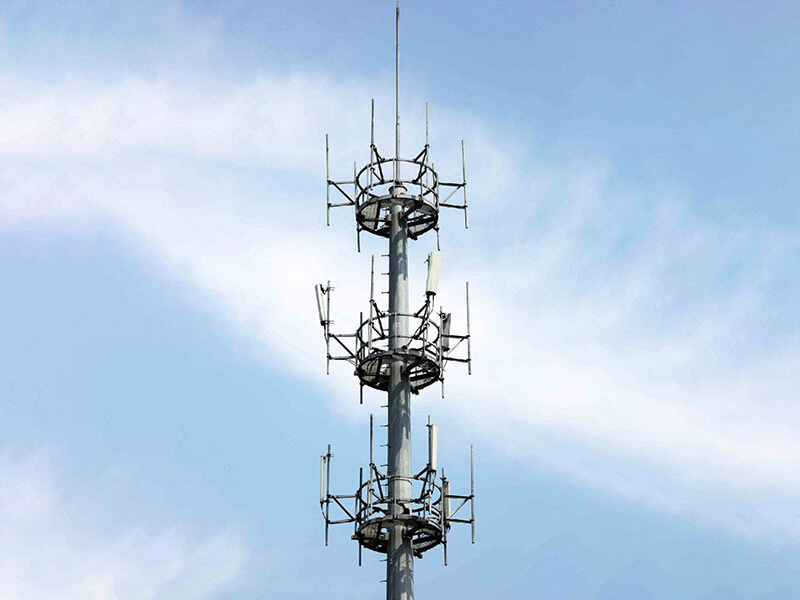 GH light weight cell phone tower excelent for telecommunication-8