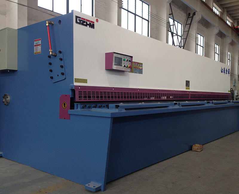 Hydraulic Pendulum Plate Shears