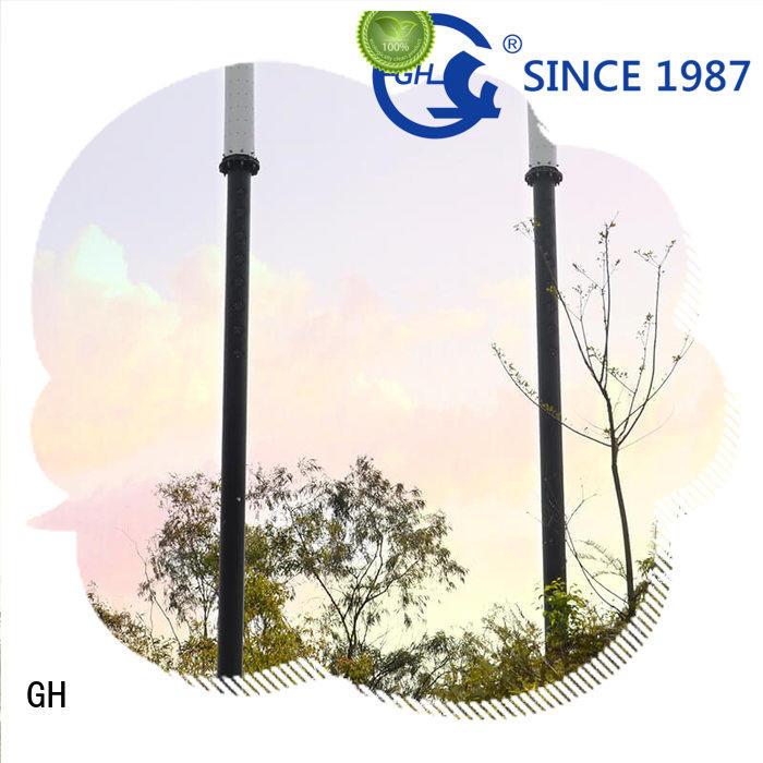 advanced technology smart street light pole suitable for public lighting