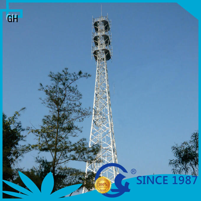 GH light weight telecommunication tower ideal for comnunication system
