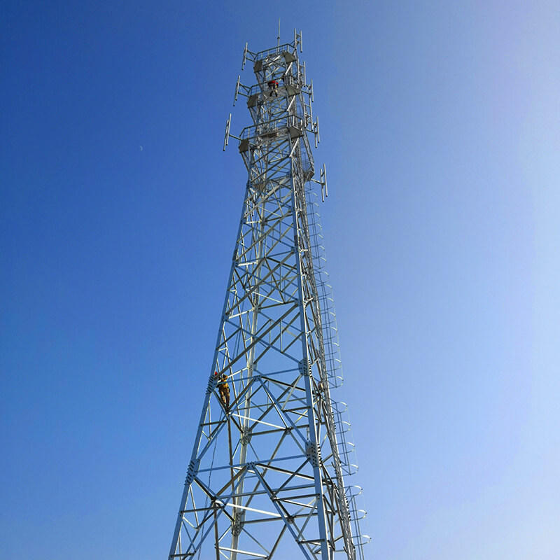good quality telecommunication tower excelent for communication industy-2