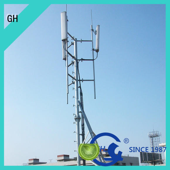 GH rod tower with satisfed feedback for communication industry