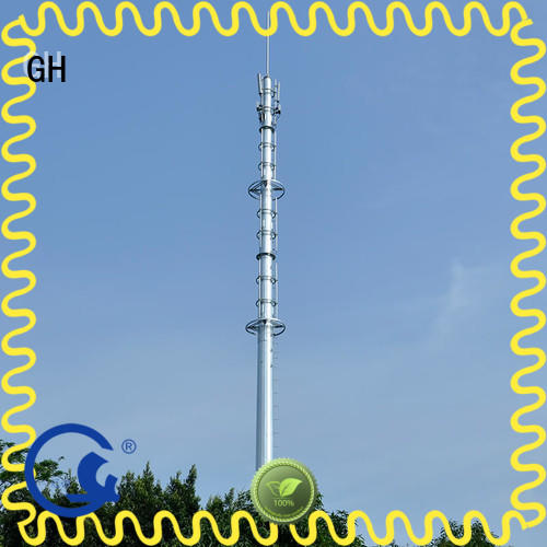 light weight telecommunication tower excelent for communication industy