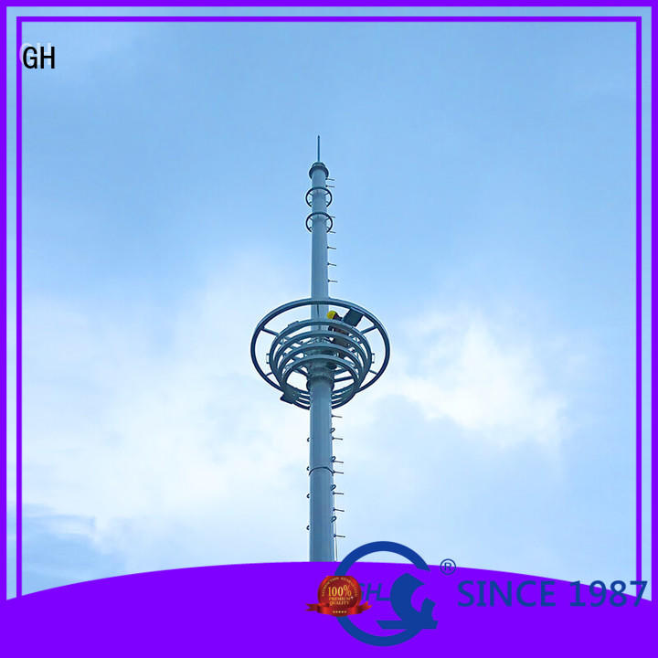 GH light weight antenna tower suitable for comnunication system