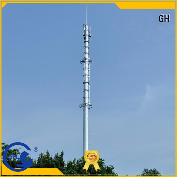 GH light weight cell phone tower ideal for communication industy