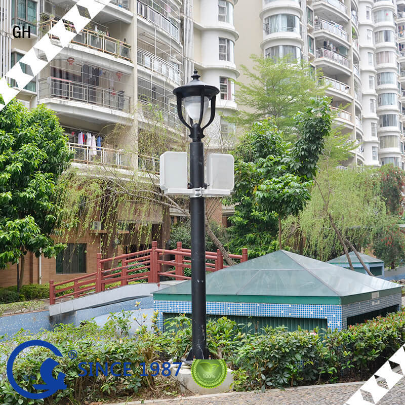 GH smart street light pole ideal for lighting management