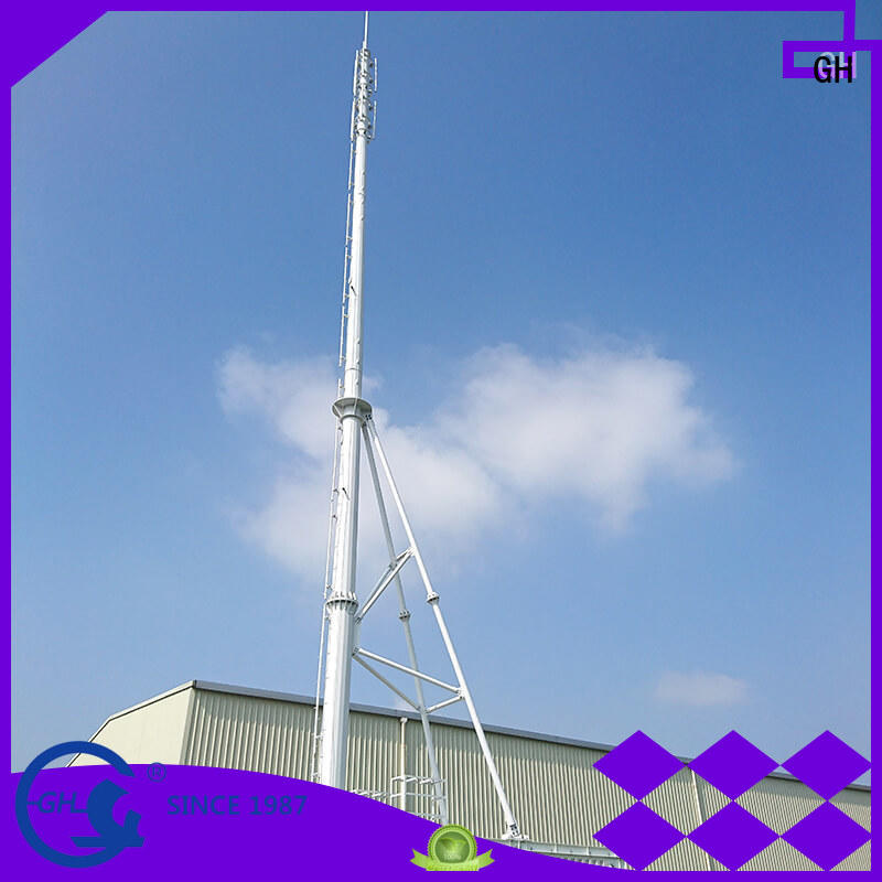 GH strong practicability integrated tower systems with high performance for communication system