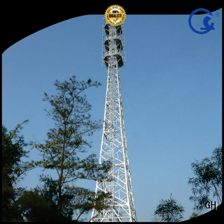 light weight communications tower suitable for telecommunication