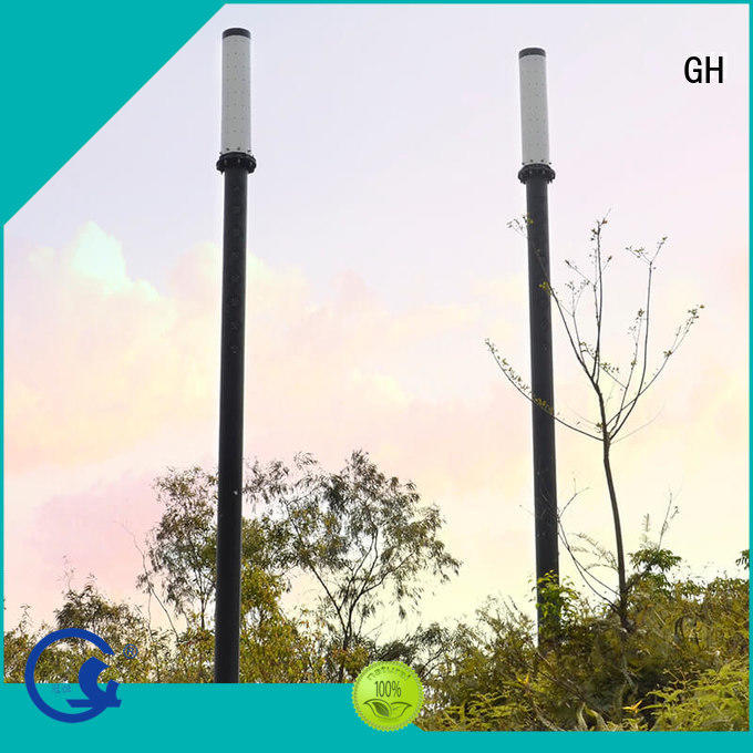 GH smart street light pole cost effective for public lighting