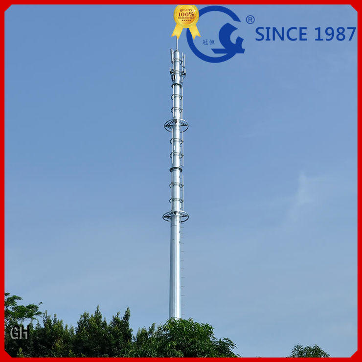 cost saving communications tower ideal for telecommunication