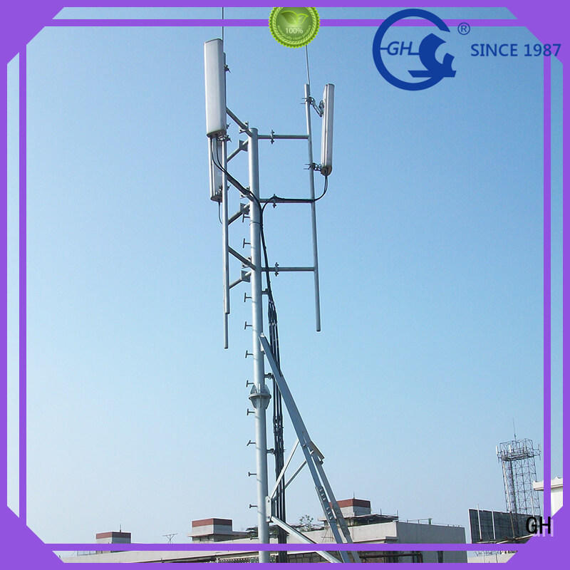 GH antenna pole tower with great praise for communication industry