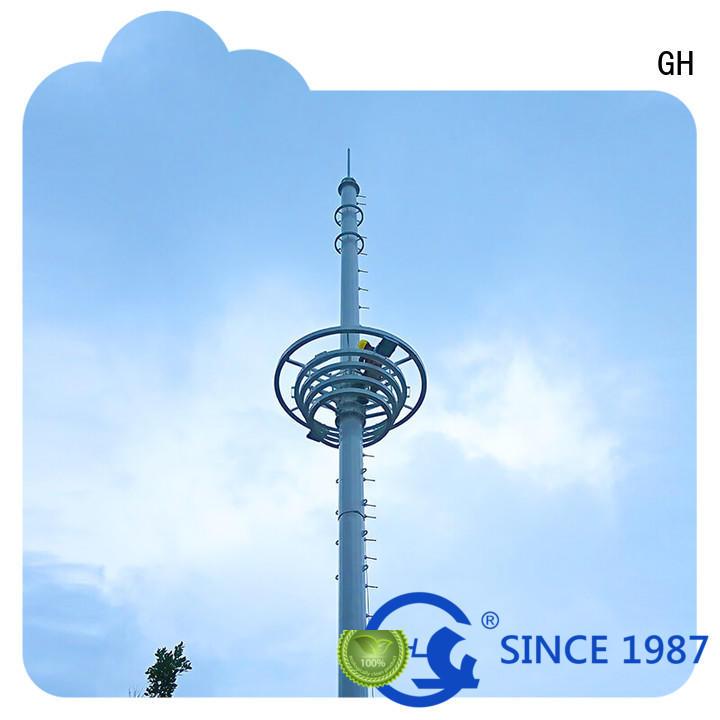 Landscape Communication Tower,single tupe tower