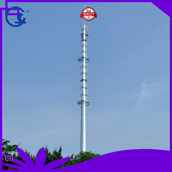 GH light weight mobile tower ideal for telecommunication