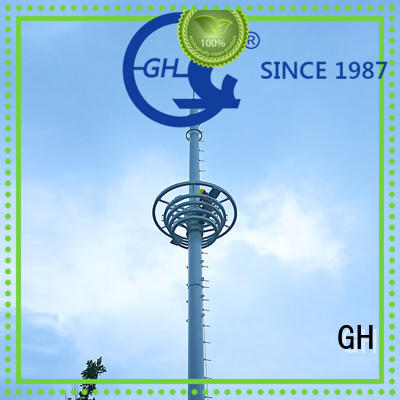 GH good quality communications tower suitable for telecommunication