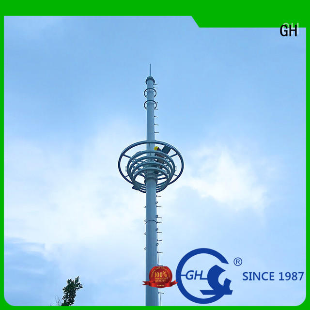 light weight cell phone tower excelent for communication industy