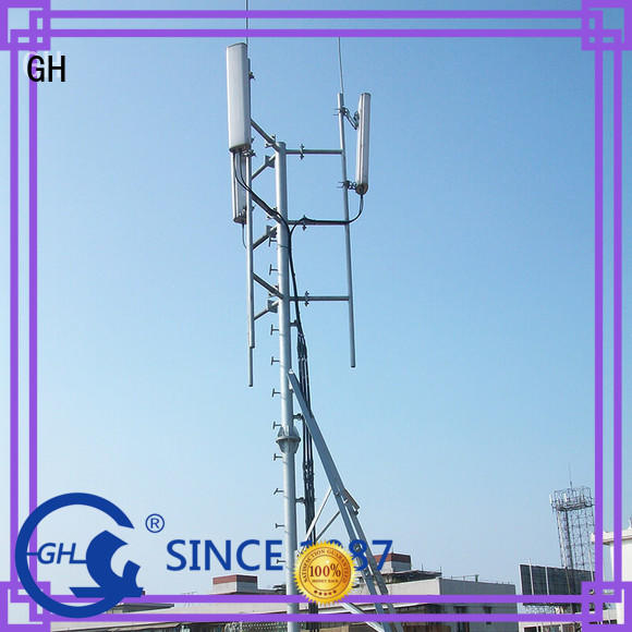 GH good quality rooftop antenna tower communication industry