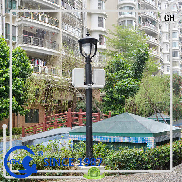 GH energy saving intelligent street lamp suitable for lighting management