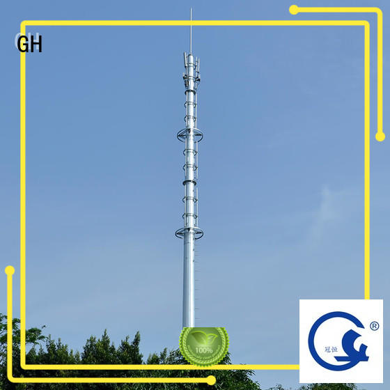 GH good quality mobile tower suitable for telecommunication