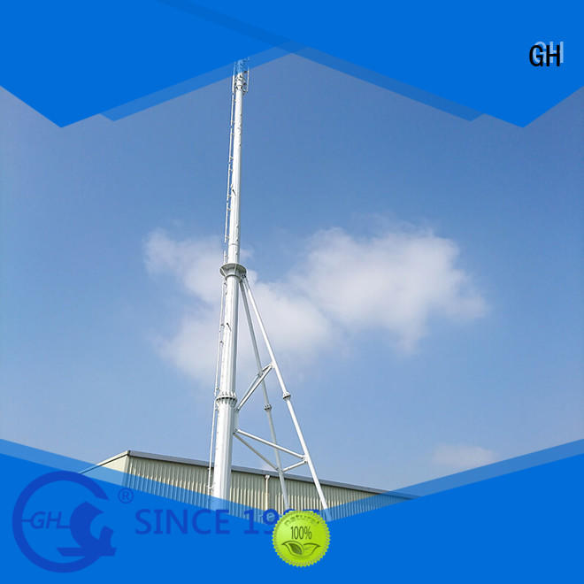 GH convenient assembly integrated tower systems with high performance for communication system