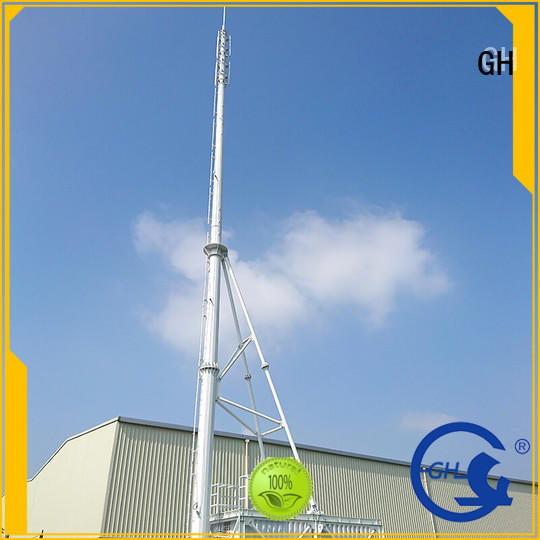 convenient assembly integrated tower systems with high performance for communication system