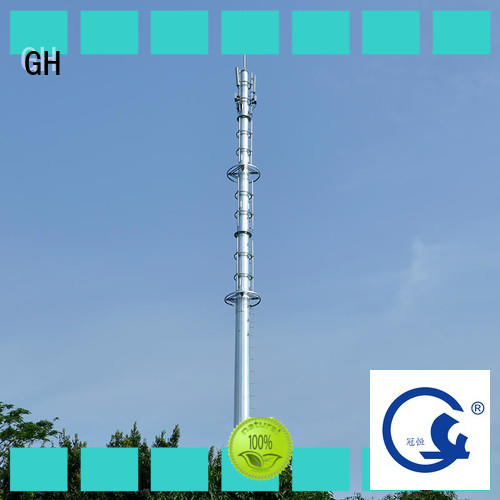 GH light weight telecommunication tower suitable for telecommunication