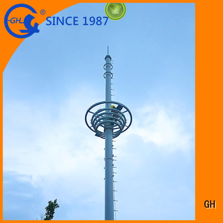 light weight cell phone tower suitable for comnunication system