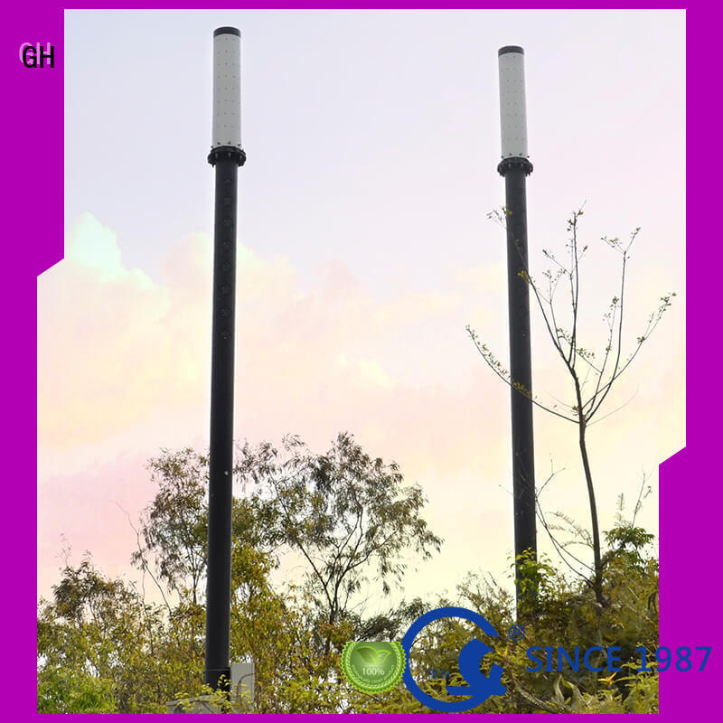 GH energy saving smart street light pole good for